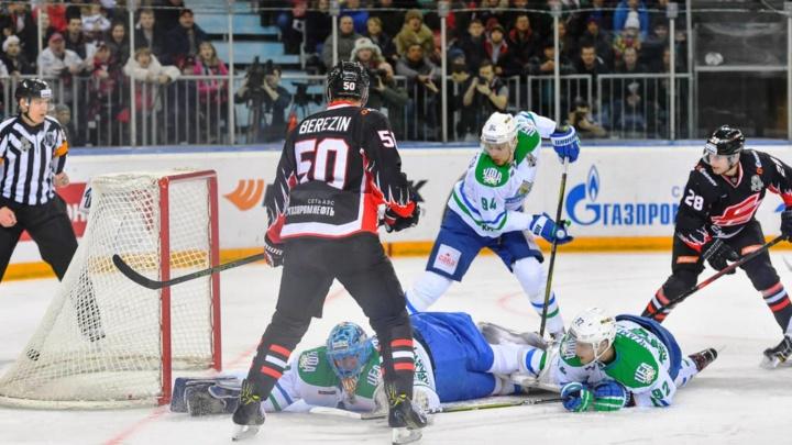 «Авангард» вышел вперёд в серии плей-офф с «Салаватом»