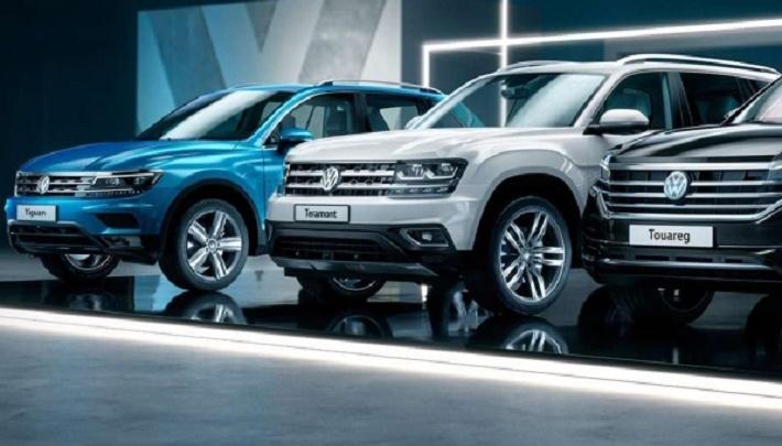 «Вы ждали его? Мы — да!»: Большой off-road Volkswagen покорил Красноярск