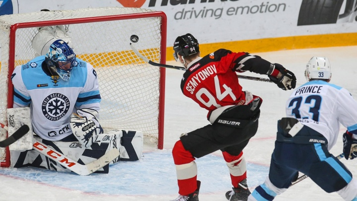 Славься, «Сибирь»: «Авангард» забросил новосибирской команде семь шайб