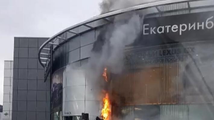 В салоне «Лексус-Екатеринбург» объяснили причину пожара