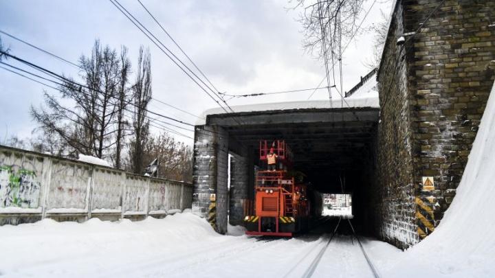 В Перми готовятся ремонтировать путепровод на улице Монастырской. Фото
