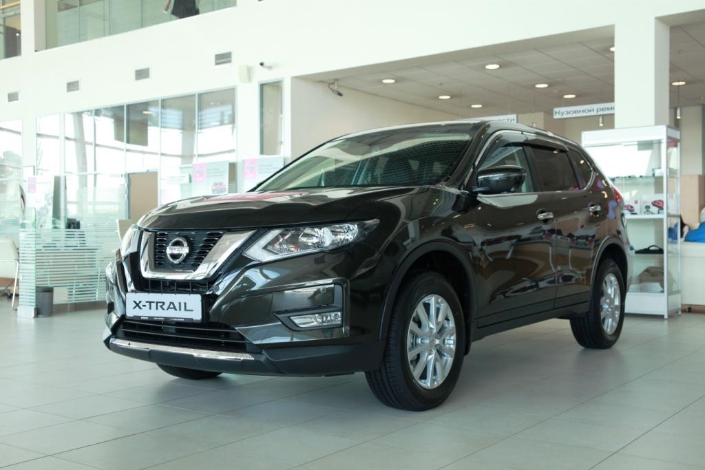 NissanX-Trail New: цена от 1 351 000 руб., выгода до 330 000 руб., кредит от 0,1%**