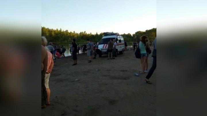 Знойный выходной обернулся трагедией на пляже острова Татышев