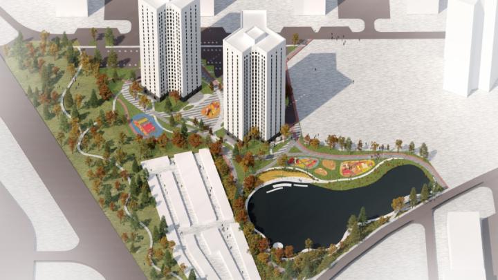 Московские архитекторы показали, каким будет тюменский двор
