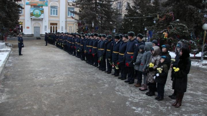 Слава ВДВ: в Камышине отметили день образования десантно-штурмовой бригады