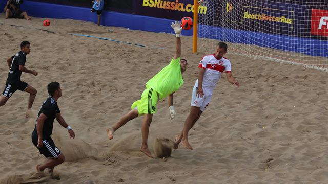 Пляжные «Крылья Советов» уступили в первой домашней игре