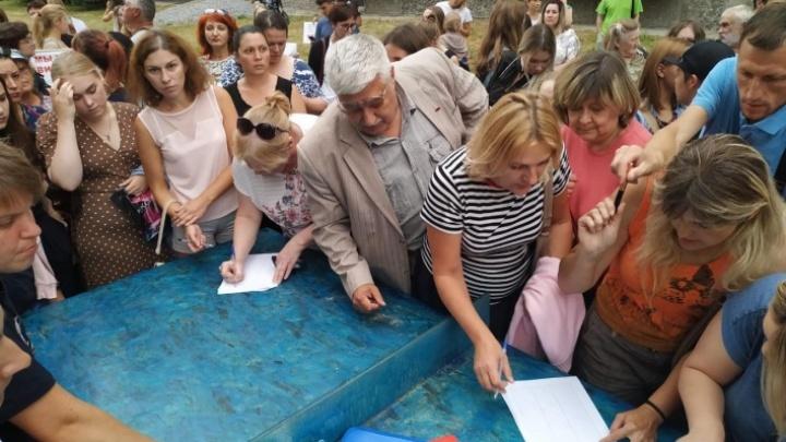 Жители Академгородка пожаловались мэрии на живодёров