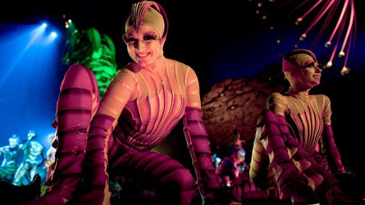 Блохи-гимнасты и бабочки под потолком: в прямом эфире смотрим репетицию Цирка дю Солей