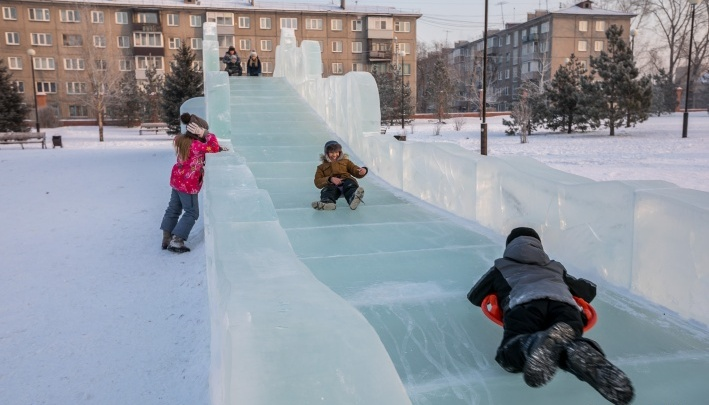 С начала рабочей недели холода начнут отступать от Красноярска