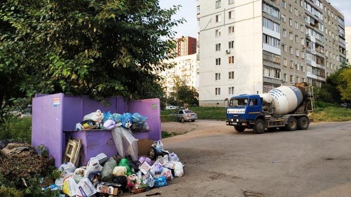На вывоз отходов уфимцев власти Уфы потратят полмиллиарда рублей