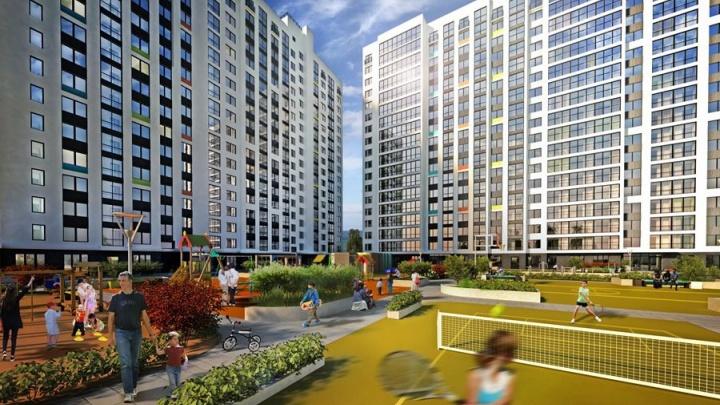 Пора уезжать из «панелек» — на левом берегу строится стильный ЖК с квартирами от 9 650 в месяц
