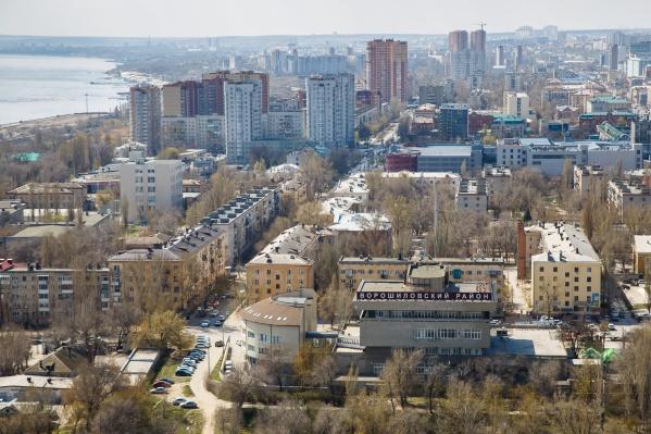 Мельница находится в Ворошиловском районе Волгограда