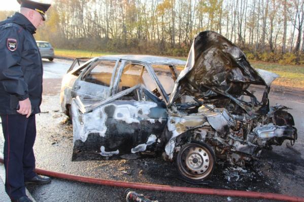 Авария произошла на трассе Москва — Волгоград