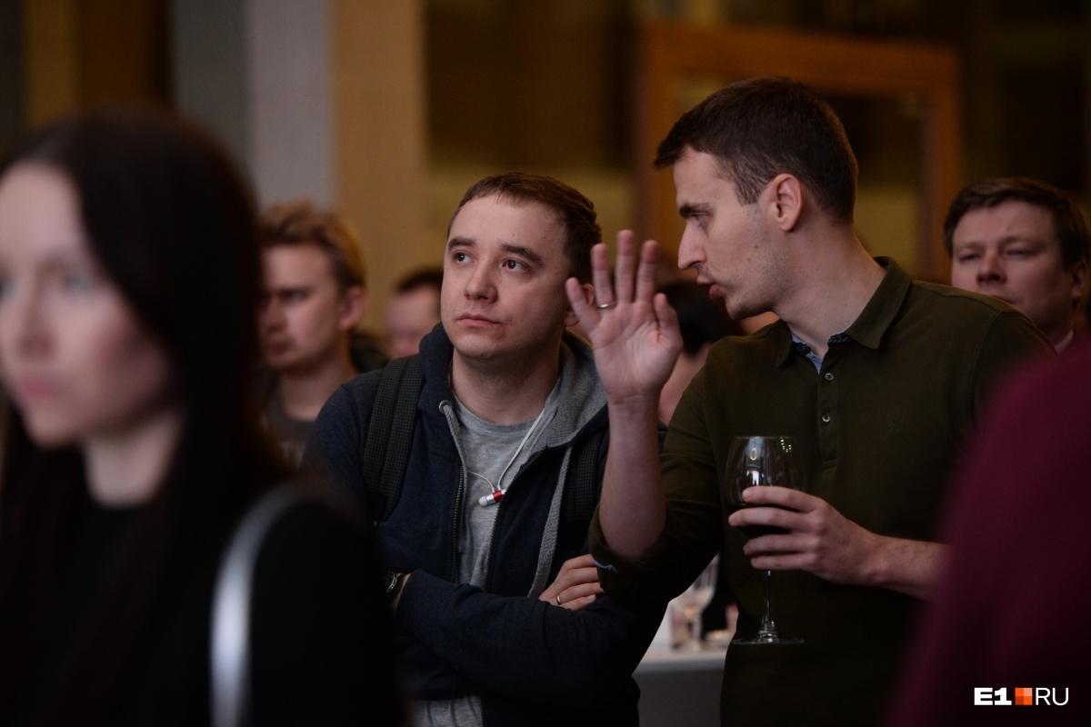 На презентацию прилетели даже наши коллеги из Новосибирска
