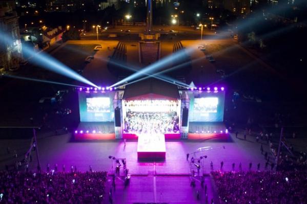 Концерт на Театральной площади проведут 14 сентября