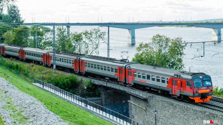 В Прикамье появится новый маршрут электрички — от Краснокамска до Перми