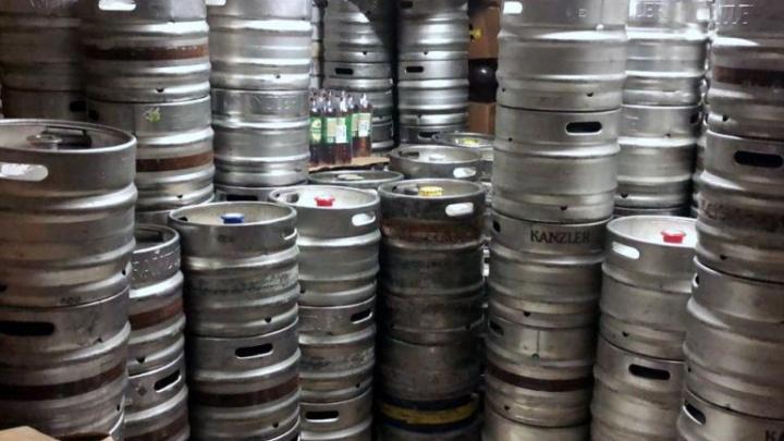 В Волгограде нашли 25 тысяч литров просроченного пива