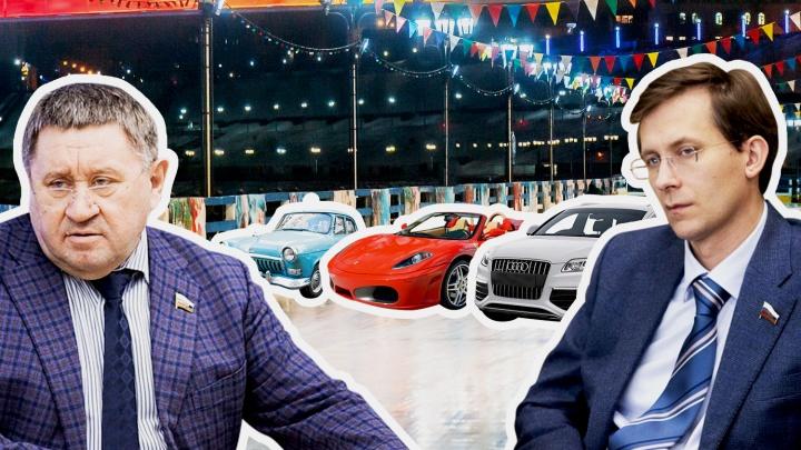 Смотрим, какие автомобили стоят в ВИП-гаражах сенаторов от Тюменской области