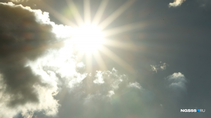 В Омске накануне Дня Победы установится жара