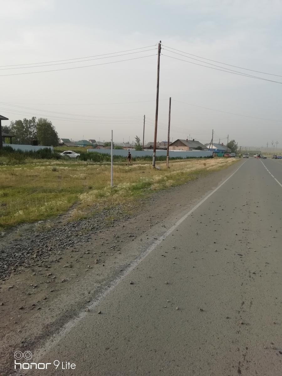 В месте, где произошло ДТП, дорога прямая, без резких поворотов