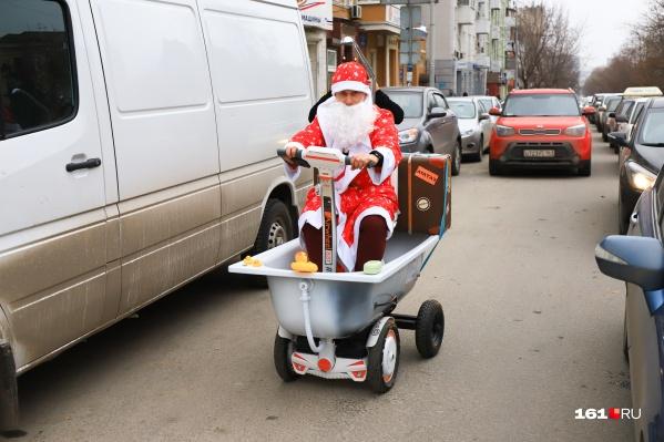 Такого Деда Мороза вы точно ещё не встречали