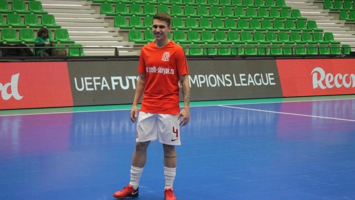 Новосибирский футбольный клуб расторг контракт с бразильским игроком