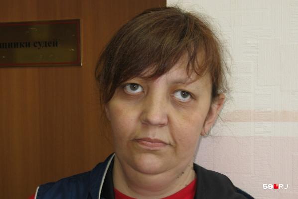 Яна Галкина после заседания суда