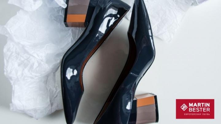 Магазины снижают цены на обувь: туфли от 1990 рублей