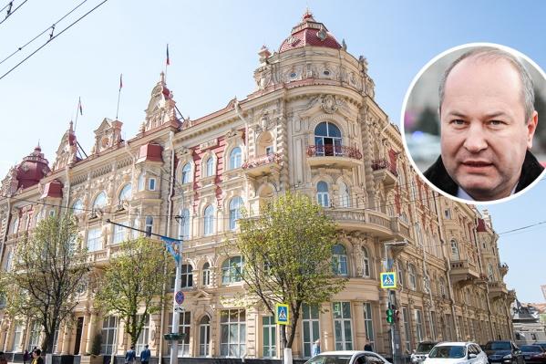 Виталий Кушнарев занимал должность сити-менеджера Ростова два с половиной года