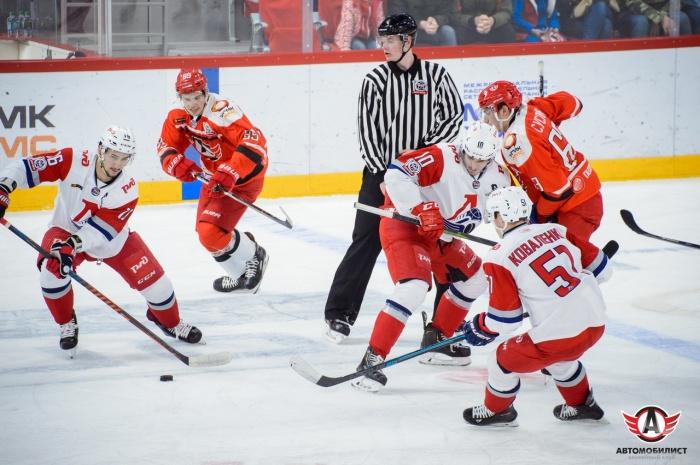Екатеринбургская команда до конца второго периода вела в счете
