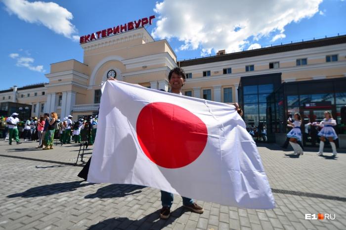 Больше всего японцу у нас понравились памятники и архитектура