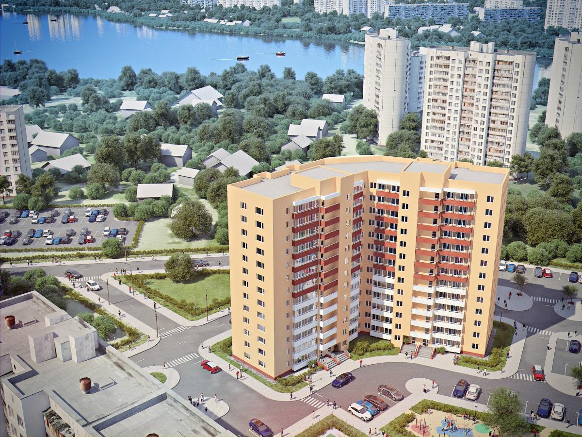 ЖК «Рощинский» находится в одном из самых живописных районов города