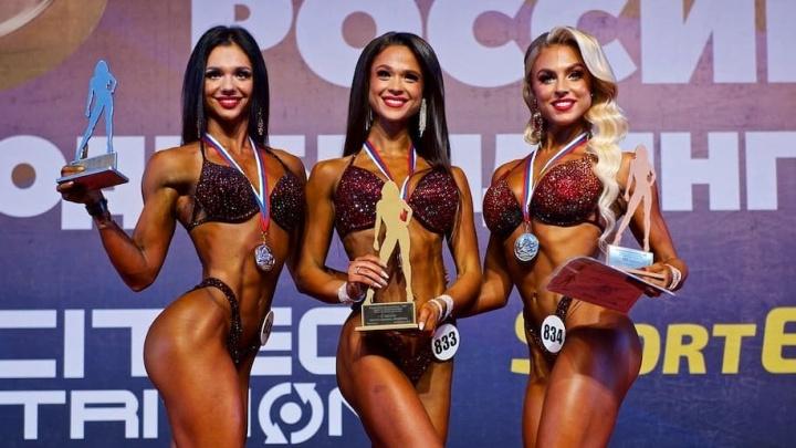 Красноярская фитоняша взяла «бронзу» на Кубке России по фитнес-бикини