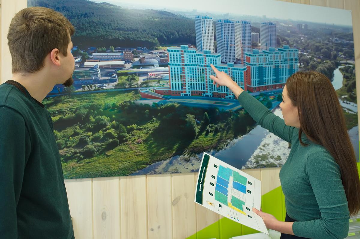 Дарья хочет квартиру на верхних этажах и с видом на пруд