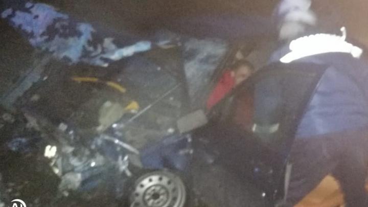 В Ростовской области столкнулись две машины. Один человек пострадал