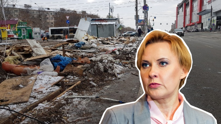 Владельцы снесенного рынка на Авроре подали в суд на приставов и мэра Лапушкину