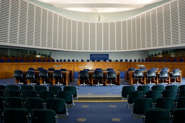 Так выглядит зал заседаний Европейского суда по правам человека