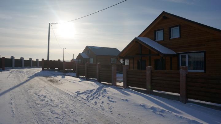Экодеревня «Полесье» продолжает строительный сезон