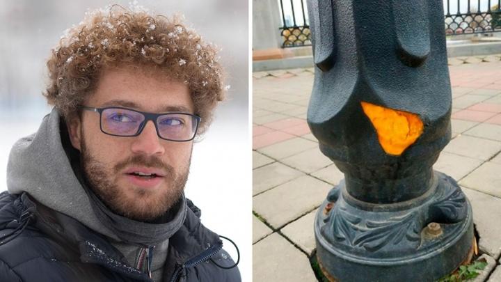 «Мы не оставим культурного слоя»: Варламов раскритиковал пластиковые фонари на набережной Исети