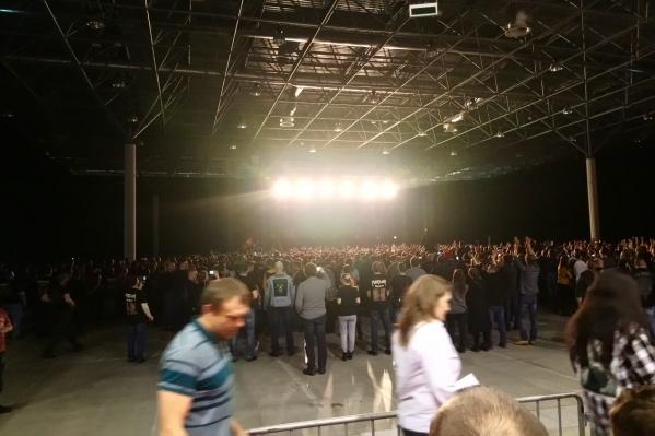 Концертом группа открыла начало прощального тура THE FINAL BATTLE в России