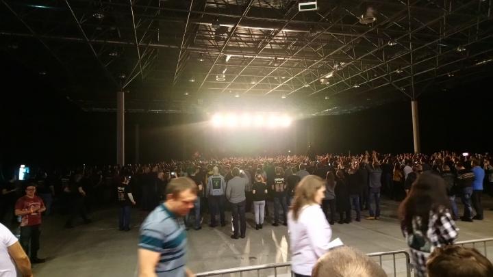Легендарная хэви-метал-группа Manowar провела в Новосибирске концерт прощального тура