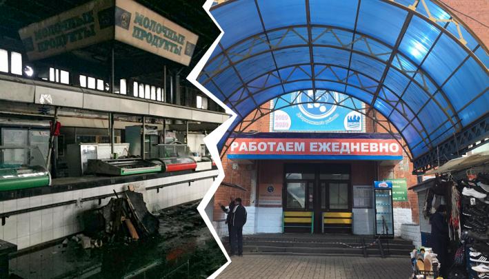 «Ещё много работы»: владелец Дзержинского рынка рассказал, когда его откроет
