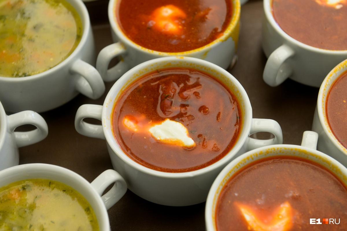Борщ и рассольник «Ленинградский» — классика школьных супов