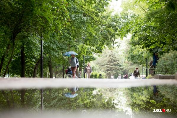 Первая декада августа в Ростове дождливая