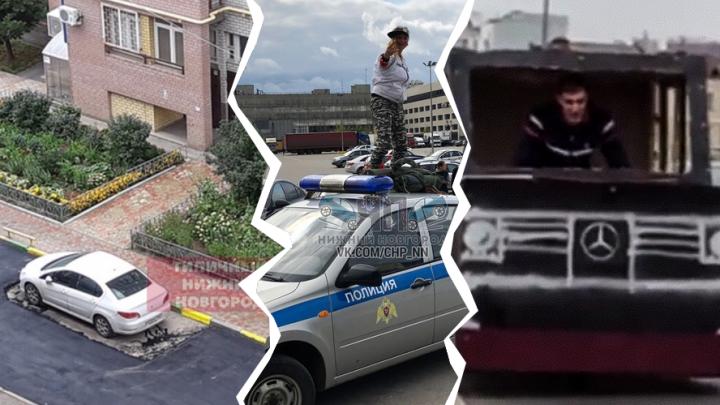 Дичь недели: картонный гелендваген, новости, от которых бомбит, и дерзкая кража икры