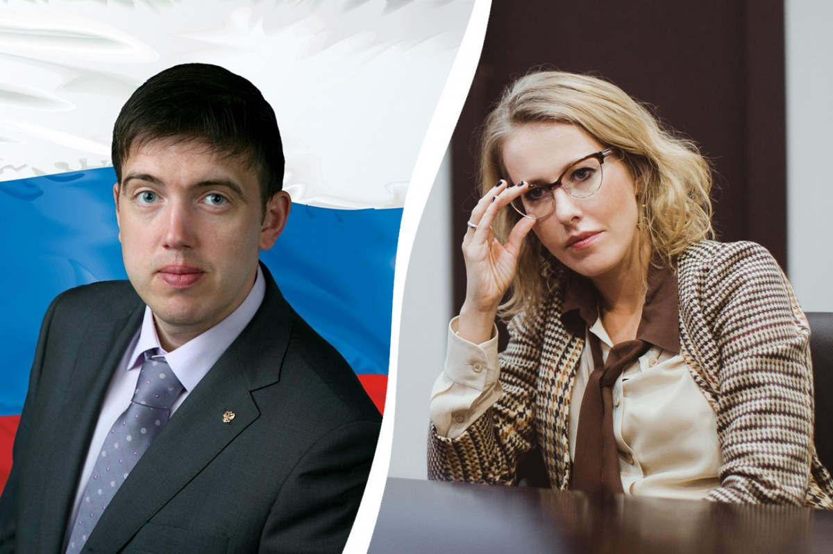 Ильдар Резяпов и Ксения Собчак не смогли поделить Крым