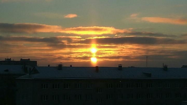 Над Ярославской областью взошли два солнца: как такое возможно