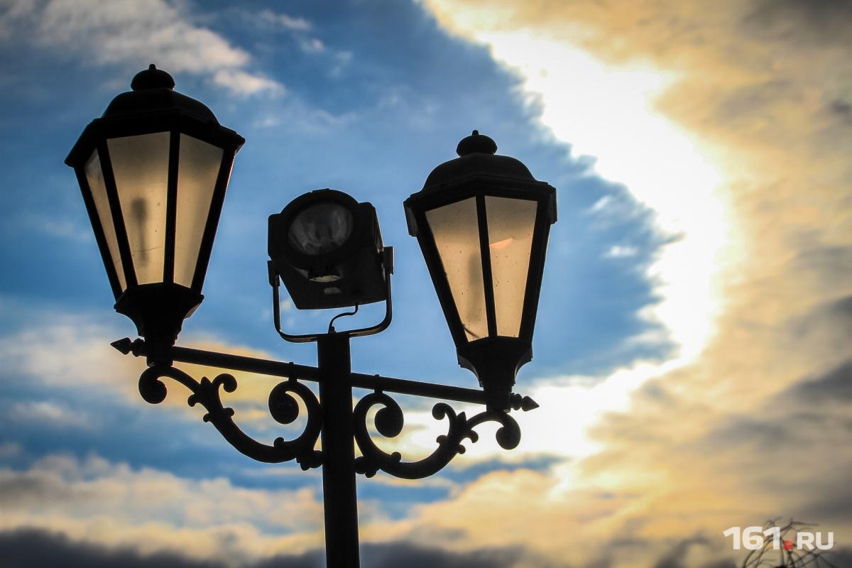 Новое освещение появится на десятках ростовских улиц