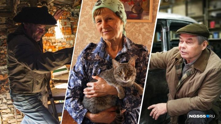 Восемь омских пенсионеров, которые нас удивили (и продолжают удивлять)