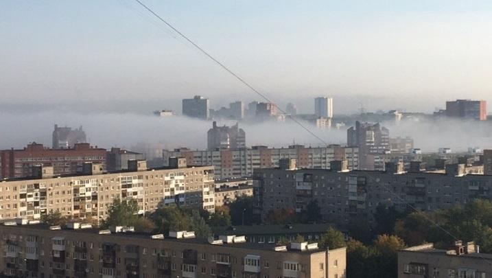 Пермяки удивляются густому туману. Узнали у синоптиков, откуда он появился